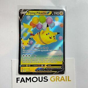 Flying Pikachu V - 006/025 - Rare Holo Card - Pokemon Celebrations MINT