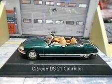 CITROEN DS 21 DS21 Cabrio Cabriolet 1971 grün green Norev 157080 SP 1:43