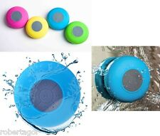 CASSA BLUETOOTH ALTOPARLANTE SHOWER SPEAKER IMPERMEABILE WATERPROOF BTS-06