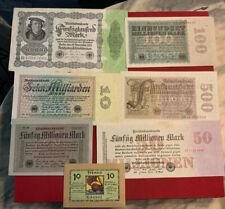 Deutschland Banknoten Lot (6)