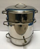 Oso of Finland 18/10 Stainless Steel 10.0 L Clam Steamer