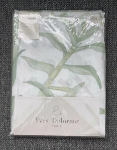 Yves Delorme Paris 500 ThreadCount Percale Egyptian Cotton Duvet Cover 155x210CM