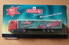 Modellino autocarro per birra Rimorchio trasporto MAN Könecke LIMITATO HS 9