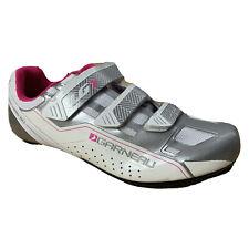 New Louis Garneau Women's HRS-80 Road Cycling Shoes Size 10 , 39 EU Pink/White