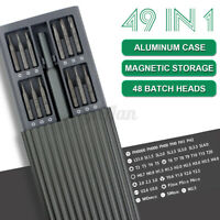 49 In 1 Multi-Tool Precision Magnetic Screwdriver Repair Set with Alloy Case