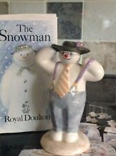 ORIGINAL VINTAGE BOXED ROYAL DOULTON 1985 STYLISH SNOWMAN COLLECTION DS3 / GIFT