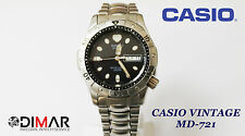 CASIO VINTAGE MD-721 DIVER MARLIN QW.394 JAPAN AÑOS 80