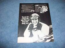 1971 Vintage MPC 500 Model Kit Idea Contest Ad with Dan Gurney
