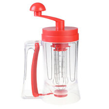 New Manual Pancake Batter Dispenser Perfect Cupcakes Waffles Mixer Mix Brea