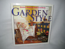 GARDEN STYLE DECORATING IDEAS IN & OUT BETTER HOMES & GARDENS MINT SOURCES GIFT?