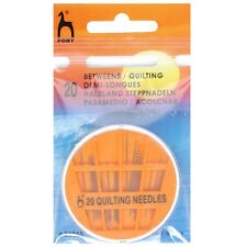 PONY SIZE 6,7,8 and 9 BETWEENS / QUILTING - HAND SEWING NEEDLES - PK OF 20
