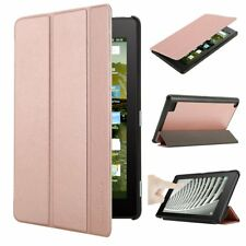 Auto Wake/Sleep Leather Stand Case Cover For Amazon Kindle Fire 7 2017 7th Gen