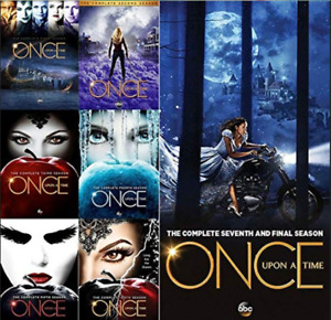 Once Upon a Time: The Complete Series Season 1-7 DVD Box Set US Seller Free Ship