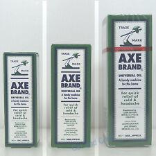 Axe Brand Universal Oil Massage Headache Cold Pain Insect Bites Relief 星加坡 斧標驅風油