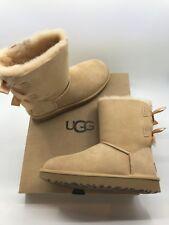 Detalles de Ugg Gita Lazo Mini Castaño Botas Mujer 5 11 Nuevo
