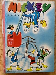 Mickey magazine édition belge recueil N°13 (1956)