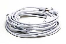 30Ft 14/3 White Multi Outlet Power Cord Catering Hospitality Events Shows Booths