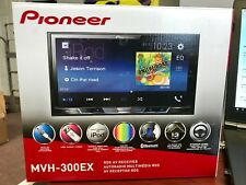 "Pioneer MVH-300EX 2-DIN Digital Multimedia Video Receiver with 7"" Display NEW"