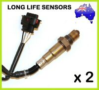 2x Rear Oxygen Sensor O2 for Holden COMMODORE VZ VE 3.6L Rear Oxygen Sensor O2 C