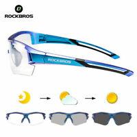 ROCKBROS Cycling Photochromic Sunglasses Bicycle Sports UV400 Ultralight Glasses