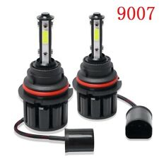 Pair 9007 HB5 4side LED Headlight  High Low Beam Kit 100W 20000LM 6000K White