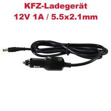 Zigarettenanzünder-Adapter Ladegerät Netzteil 12V 1A für Monitore Lampen LED