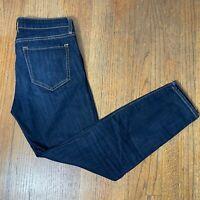 Gap Women's Legging Skimmer Dark Indigo Stretch Jeans,Size 6/28R