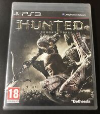 PS3 PLAYSTATION HUNTED THE DEMONS FORGE Nuevo Sin Abrir! Español