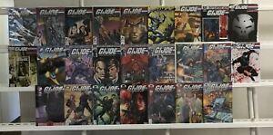 G I Joe  America's Elite  Origins  Cobra Image Idw 25 Lot Comic Book Comics Set