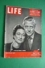 Magazine LIFE 5 1950 ELIZABETH LIZ TAYLOR NICK HILTON JAMES FUCHS PABLO CASALS