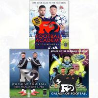 F2 Galaxy of Football,World of Football,Football Academy 3 Books Collection Set