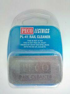 NEW Peco Lectrics PL-41 Abrasive Rubber Rail Cleaner