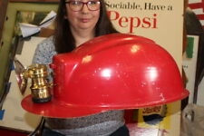 Rare Vintage 1940's Coal Mine Helmet Carbide Light 20