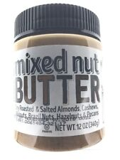Trader Joe's Mixed Nut Butter-Almond,Cashew,Walnut,Brazil,Hazelnut, Pecan 12 oz