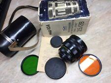 Wide angle lens Mir-10 A  f/3,5/28 mm M42 СССР  Zenit.Nikon.Canon.№ 841976