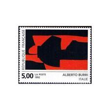 Timbre France Y&T 2780 Neuf** - Création pour la Poste - Alberto Burri - 1992