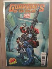 Guardians of the Galaxy #1 Deadpool Variant Dynamic Forces Exclusive Cover COA
