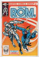 Rom #21 (Aug 1981, Marvel) Spaceknight [Torpedo] Bill Mantlo Sal Buscema X