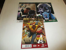 Mighty Avengers Vol 2 # 1-3--Infinity tie in--Al Ewing,Greg Land--2013--VF+