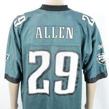 119789550 Philadelphia Eagles Nate Allen Jersey  29 Green Reebok Sz XLarge