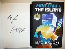 ***SIGNED 1st Print/ED*** Minecraft - The Island - AUTOGRAPHED by Max Brooks NEW