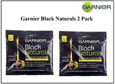 2 Pack Garnier Black Naturals 3.0 Brown Black Oil-Enriched Cream Hair Color