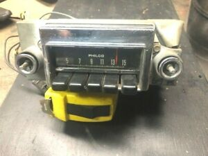 1969 Ford Fairlane AM Radio