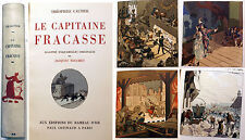 GAUTIER/LE CAPITAINE FRACASSE/ED RAMEAU D'OR/1942/TOME II/TOUCHET ILLUSTRATEUR
