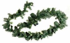 LED Weihnachtsgirlande mit Timer - 3 Größen - Weihnachtsgirlande Tannen Girlande
