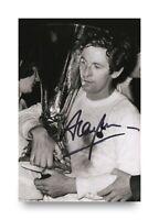 Alan Mullery Hand Signed 6x4 Photo Tottenham Hotspur Autograph Memorabilia + COA