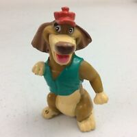 1989 All Dogs Go To Heaven Wendy's Itchy PVC Dog Figure Toy