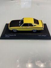 Minichamps 1:43 Opel Manta SR Zitrusgelb limitiert 1344 pcs Box