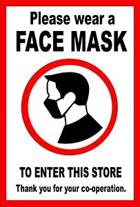 Face Mask Covering Required THANK YOU FOR YOUR COOPERATION
