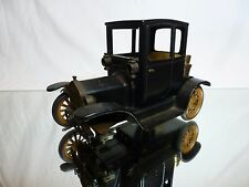 TIN TOY BLECH CONSUL VINTAGE FORD COUPE + LIGHTER - BLACK L16.0cm - NICE